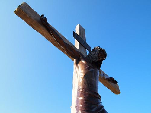 STATION XII: Jesus dies on the cross
