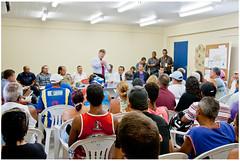 Cerca de cem pessoas compareceram à sede da Secretaria de Planejamento e Controle Urbano, no dia 16/04. Foto: Toni Santanna/Pref.Olinda
