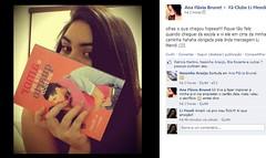 """Ana Flávia com seu livro depois de chegar da escola! • <a style=""""font-size:0.8em;"""" href=""""http://www.flickr.com/photos/75924583@N03/8702444687/"""" target=""""_blank"""">View on Flickr</a>"""