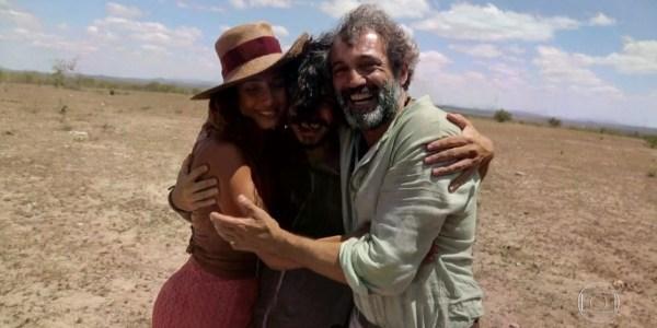 """Globo exibe últimas imagens de Montagner nos bastidores de """"Velho Chico"""""""