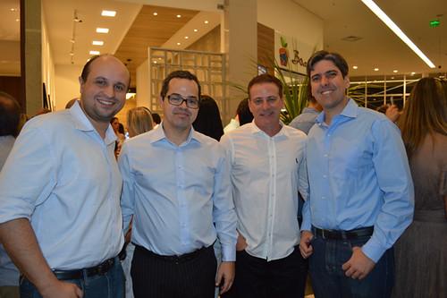 Bernardo Damião, Leo Condé, Jonas Sales e Henrique Carneiro