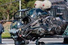 Mi-24 Hind Alien Motif