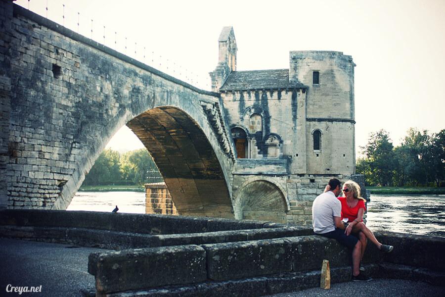 2016.10.16 | 看我的歐行腿| 夕陽西下更美麗的南法普羅旺斯古城,亞維儂 19