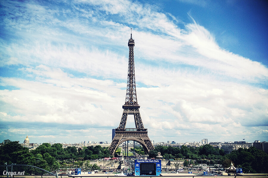2016.10.09 | 看我的歐行腿| 艾菲爾鐵塔,五個視角看法國巴黎市的這仙燈塔 12
