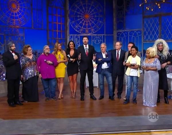 """""""The Noite"""" especial 35 anos do SBT relembra a Banheira do Gugu"""