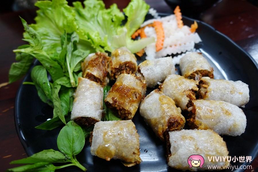 [桃園.美食]紅築越食堂.大有商圈~越南人開立的風味小吃 @VIVIYU小世界
