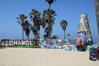 Graffiti area on Venice Beach