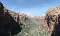 Zion from the eastern overlook