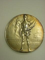 2000-158-19 Medal, Olympics, 1920, Antwerp, Go...