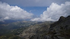 Panorama estică din șaua Cârja