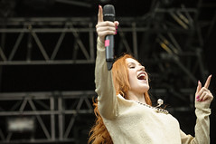Katy B på Kollenfest 2012