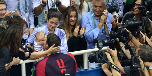 Michael Phelps em família