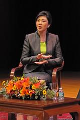 Thai PM Shinawatra at Asia Society 21