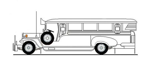 Flickriver: Photoset 'Jeepney Drawings' by renan_sityar