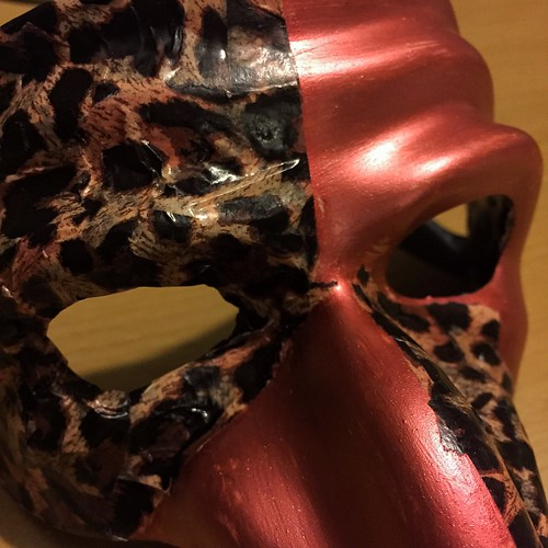 Today is all about...project mask continues