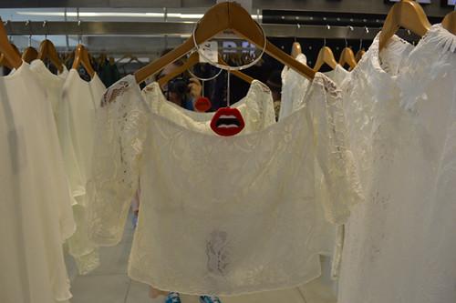 Rendas e bordados nos brancos
