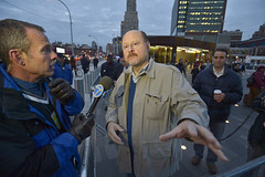 MTA Chairman and CEO Joe Lhota on the Scene
