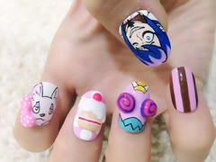 "Anime Fingernails 1 • <a style=""font-size:0.8em;"" href=""http://www.flickr.com/photos/66379360@N02/8440916850/"" target=""_blank"">View on Flickr</a>"