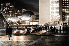 La Défense (Paris) - Night Shots