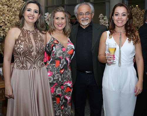 Maria Angélica, Deise, Djalma, e Lidiane