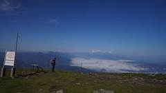 Valea Jiului și Retezatul la orizont