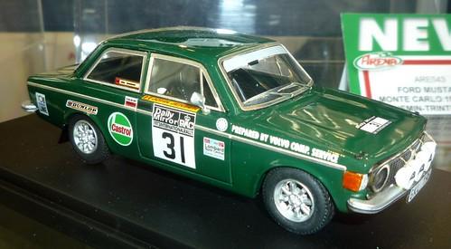 Arena Volvo 142 RAC rally 1973