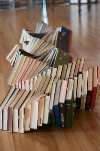 Book Snake by cogdogblog, on Flickr