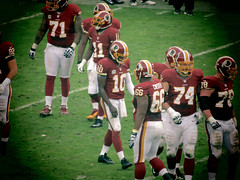 Robert Griffin III - Eagles vs Redskins 11/18/2012