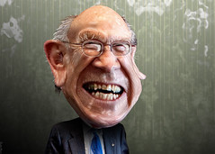Alan Simpson - Caricature