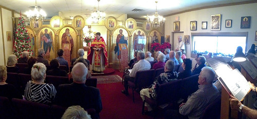 """Father Soroka celebrates the Divine Liturgy • <a style=""""font-size:0.8em;"""" href=""""http://www.flickr.com/photos/72479515@N06/8282472091/"""" target=""""_blank"""">View on Flickr</a>"""