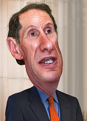 Ron Wyden - Caricature