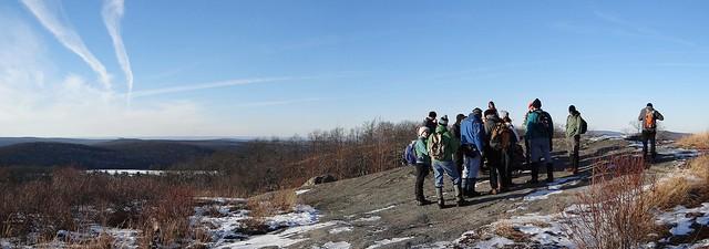 Group at Lichen Trail overlook
