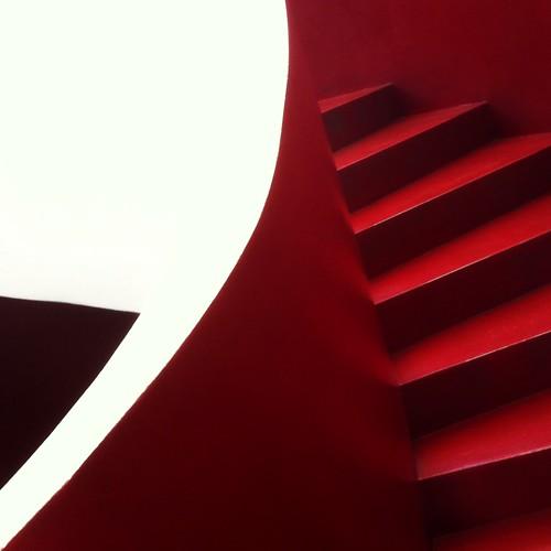 red stair augurio stairway scala wish rosso iphone larinascente auguriiiiiiiiiiii fotovisiva