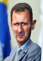 Bashar al-Assad - Caricature