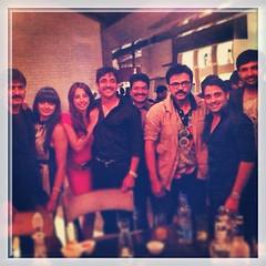 Actress Sanjjanaa with Telugu Industry Stars (1)