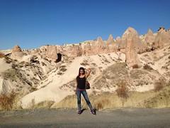 Actress Sanjjanaa holiday in Capadokiya