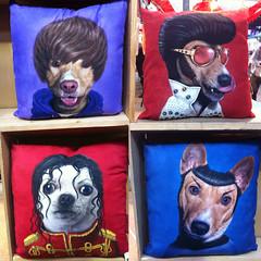 Justin, Elvis, Michael & Spock