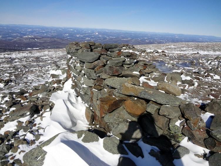 Lodge Remnants on the Summit of Mt. Moosilauke