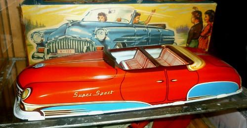 Huki auto cabriolet Gran Sport 28cm