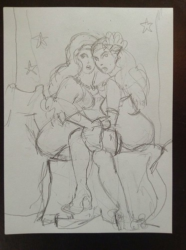 dr. Sketchy-art-Speasy dollhouse-drawing