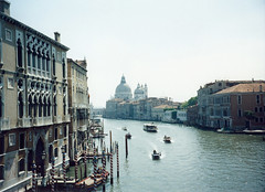 1998 05 20 Venice view toward Santa Maria della Salute from the Accademia bridge