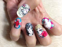 "Anime Fingernails 14 • <a style=""font-size:0.8em;"" href=""http://www.flickr.com/photos/66379360@N02/8440916592/"" target=""_blank"">View on Flickr</a>"