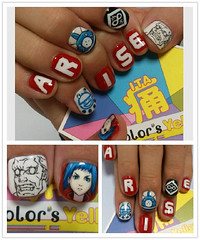 """Arise Nails 2 • <a style=""""font-size:0.8em;"""" href=""""http://www.flickr.com/photos/66379360@N02/8480498820/"""" target=""""_blank"""">View on Flickr</a>"""