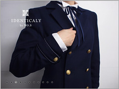 """Double Tailored Jacket inspired by Shirogane Naoto of Persona 4 • <a style=""""font-size:0.8em;"""" href=""""http://www.flickr.com/photos/66379360@N02/8573870938/"""" target=""""_blank"""">View on Flickr</a>"""