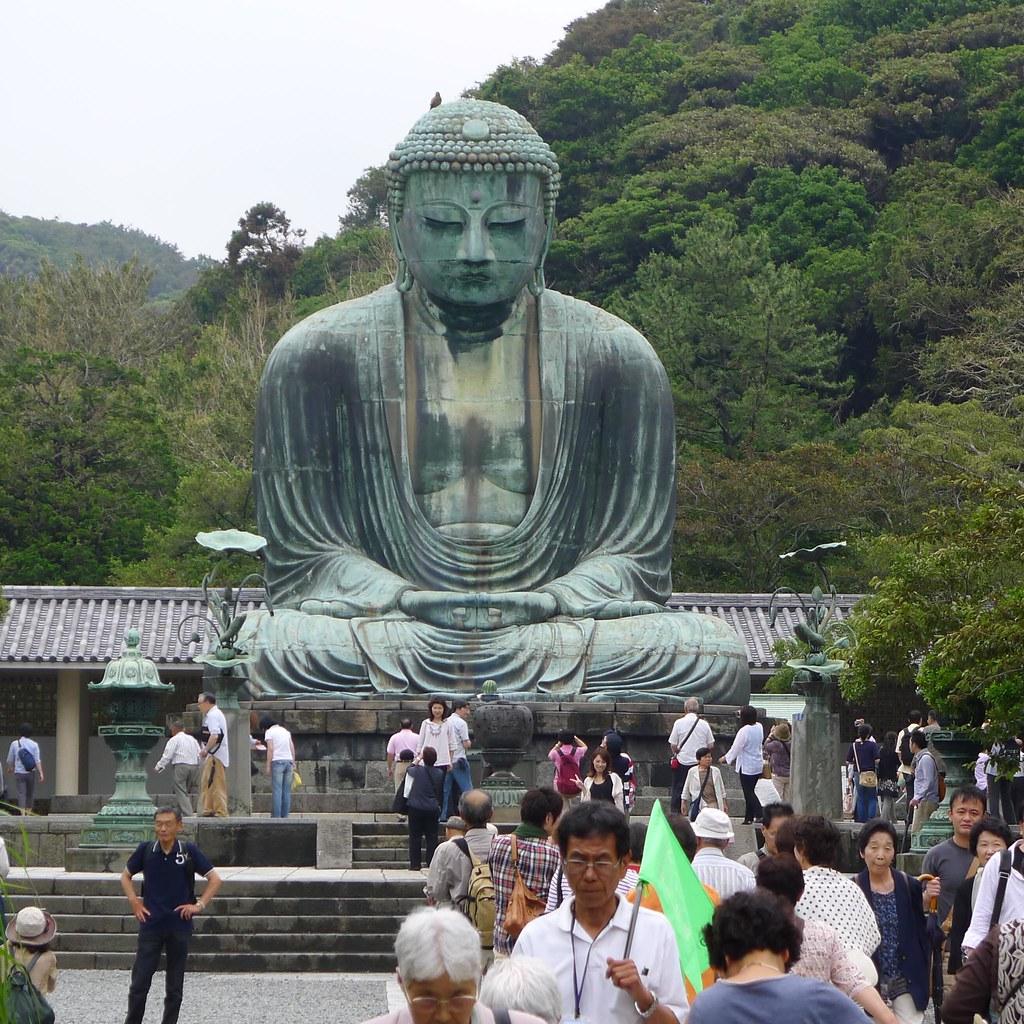 The Kamakura Daibutsu Ktokuin Temple Kamakura Japan