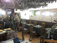 """Military Cafe 6 • <a style=""""font-size:0.8em;"""" href=""""http://www.flickr.com/photos/66379360@N02/8618216236/"""" target=""""_blank"""">View on Flickr</a>"""