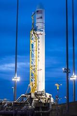 Antares Rocket Preparation