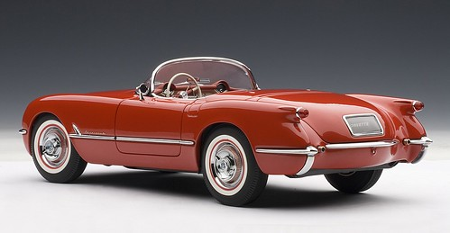 08 Autoart Corvette 1954