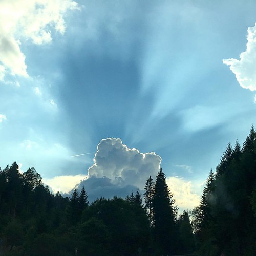 black forest - blue sky  #Wolken @ #Heimat #Schwarzwald #blackforest