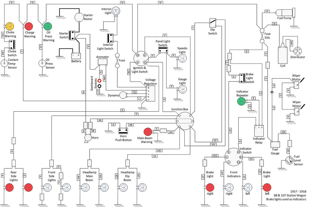 related with land rover series 3 wiring loom diagram